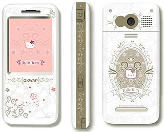 The Hello Kitty Mobile Phone by Okwap