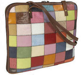 Latico Leathers Patchwork Laptop Bag: Love or Leave?