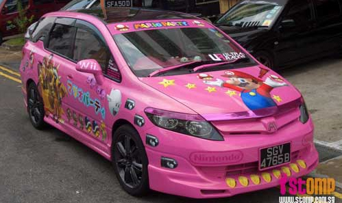 Daily Tech: Super Mario Party Car Is Quite the Ride