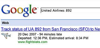 Geek Tip: Use Google to Keep Track of Flights During the Holidays
