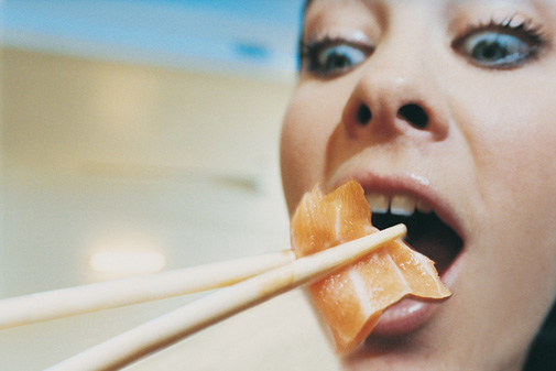 Yummy Link: Are We Afraid of Sushi?