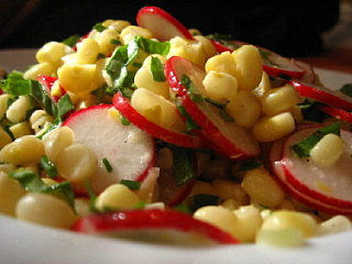 Yummy Link: Summer Corn and Radish Salad