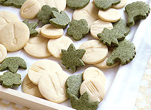 Green Tea and Cookies