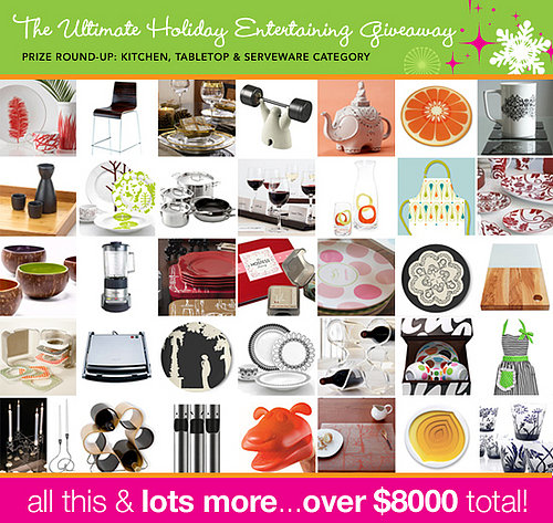 The Ultimate Holiday Entertaining Giveaway Has Ended