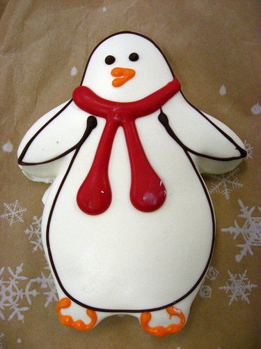 Cute Food Alert! Starbucks Penguin Cookies