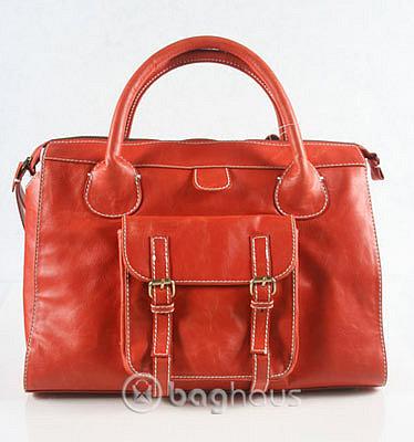 Orange Edith Tote Bag Inspired by Chloe