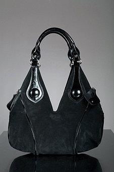 Francesco Biasia Perfect Fit Suede Handbag