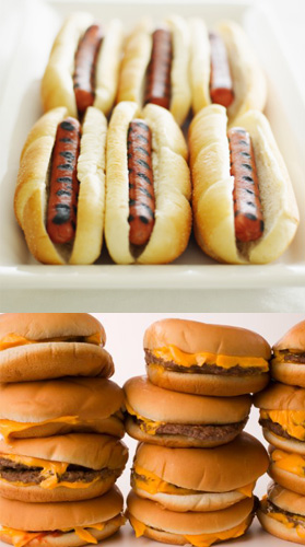 Hamburgers or Hot Dogs 