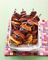 Fast, Easy, Delicious Dinner: Barbecued Pork and Apple Kebabs