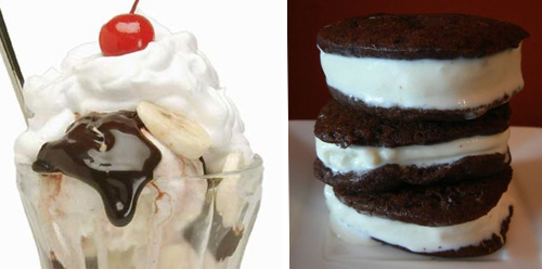 Would You Rather Have An Ice Cream Sundae Or An Ice Cream Sandwich?