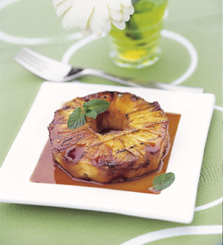 Fruit Dessert For Camping: Grilled Pineapple