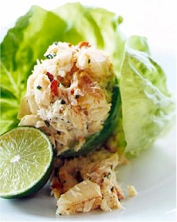 Fast & Easy Dinner: Avocado Stuffed with Chicken Salad