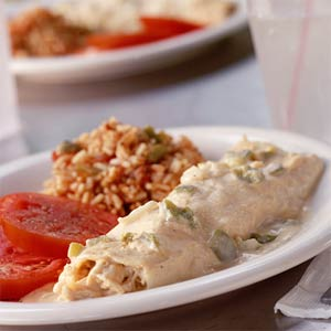 Fast & Easy Dinner: Turkey Enchiladas