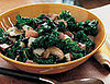 Fast & Easy Dinner: Braised Kale, Potatoes & Mushrooms
