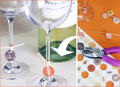 Yummy Link: DIY Wine Charms
