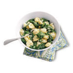 Fast & Easy Dinner: Cheese Tortellini and Broccoli Rabe