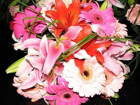 My bouquet.  I loved it!
