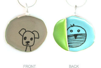 Pet Present Extravaganza: Sketch Jewelry