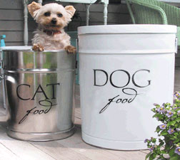 Pampered Pals: Pet Food Tins