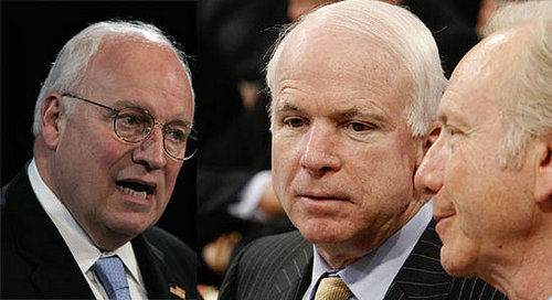 Check This:  Lieberman Hearts McCain — and Hands the Senate to Cheney?