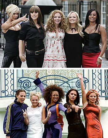 Then, Now, or Neither? The Spice Girls