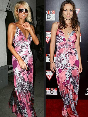 WHO WORE IT BEST: PARIS HILTON OR OLIVIA WILDE?