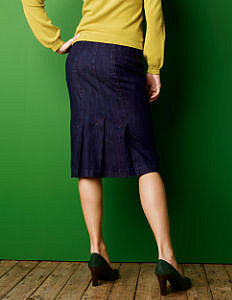 Fall Looks for Work :: Casual Flippy Back Skirt at Boden