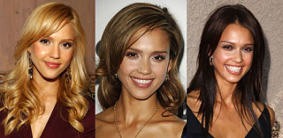 How Do Your Prefer Jessica Alba's Hair?