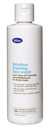 Product Review: Bliss Fabulous Foaming Face Wash