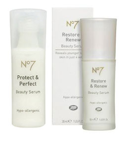 New Product Alert: Boots No7 Restore and Renew Serum
