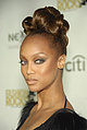 Love It or Hate It? Tyra&#039;s Fiercely Curled Updo