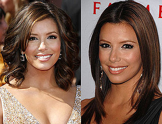 Do You Like Eva Longoria's Hair Better Wavy or Straight?