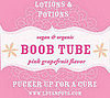 Think Pink: Lotions &amp; Potions Boob Tube Lip Balm