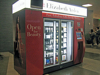Check Out the Elizabeth Arden Vending Machine