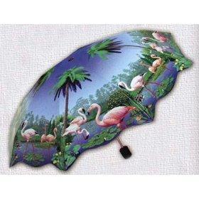 TROPICAL PRINT: Mini Folding Umbrella