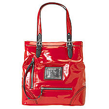 Nine West N/S Red Tote