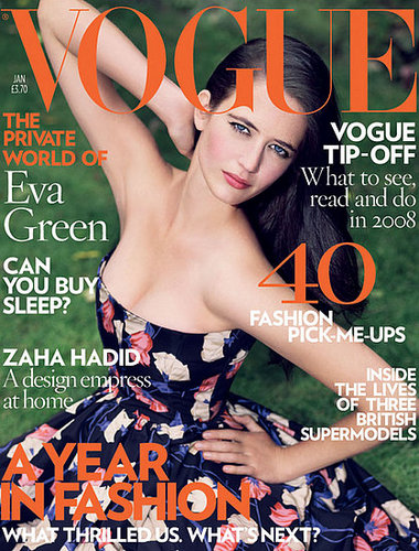 Eva Green in January 2008 issue of Vogue(UK)