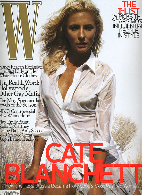 October Magazine Cover: Cate Blanchett for W