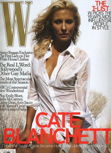 Cate Blanchett for W October 07