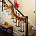 Decorate your staircase-Magnolia Leaf Garland