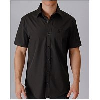Rok   Lola mens, womens clothing boutique: Penguin, Short Sleeve, Button Down, Top, Mens, Phantom