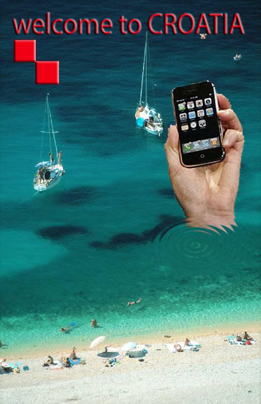 Welcome to Croatia - iPhone hacked
