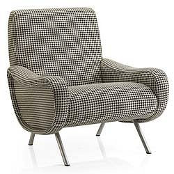 Design Within Reach - Lady Chair - Houndstooth Fabric