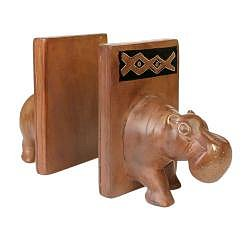 Weight of the Jungle Bookend [Hippo - Set of 2]