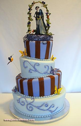 The Corpse Bride Wedding Cake
