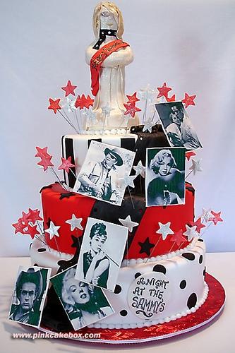 Oscar Sweet 16 Cake