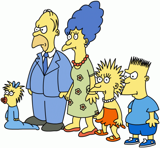 The Simpsons(Then and Now)