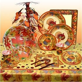 Thanksgiving Scrapbook Deluxe Party Kit