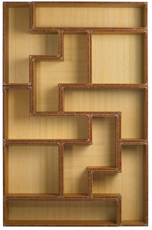 Trend Alert: Tetris-Inspired Bookshelves