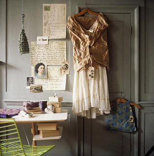Midday Muse: Dresses as Decor